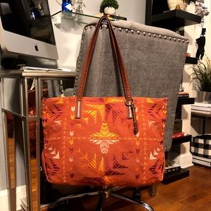 New! Women's Lucky Brand Asha tote paid $65